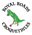 Royal Roads Croquetdiles logo